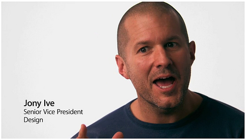 jony ive senir vice president design apple