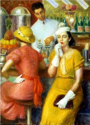 glackens-the-soda-fountain-1935